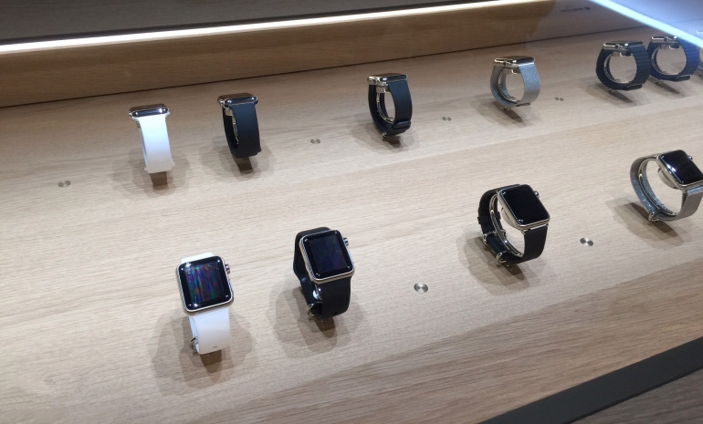 Apple Watch买前可试戴15分钟