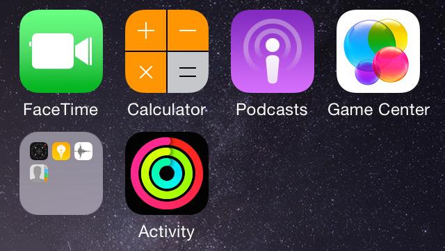 iPhone的Activity应用: 自带成就系统