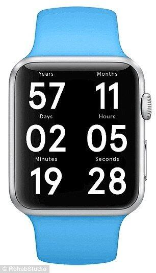 Apple Watch死亡倒计时界面曝光