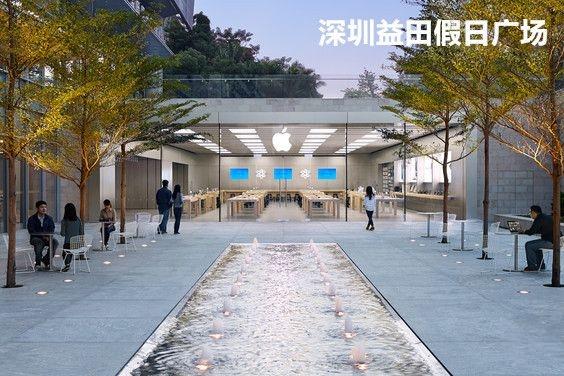 一图流:国内Apple Store零售店分布