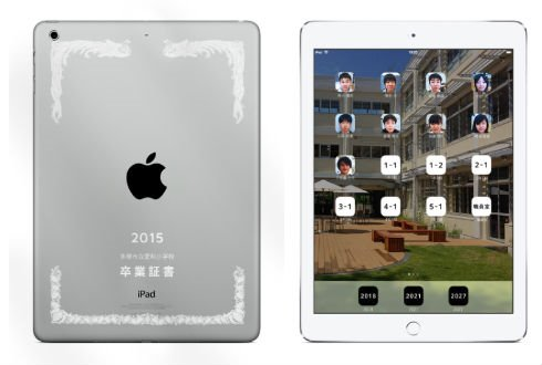 小学毕业发放iPad当毕业证书