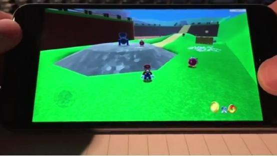 苹果iPhone6也能玩《马里奥》?