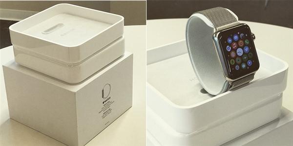Apple Watch包装曝光:简洁大方
