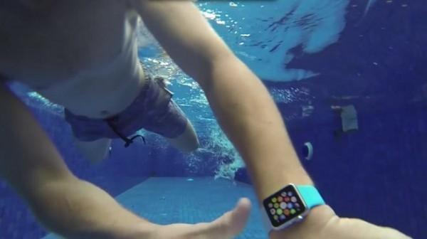 Apple Watch防水性能无压力