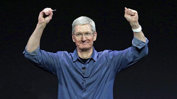 苹果发布第二财季财报:又创纪录!
