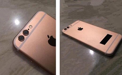 """暴丑!双摄像头iPhone6S""""谍照""""曝光"""