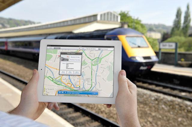 传苹果iOS9地图将支持公交导航