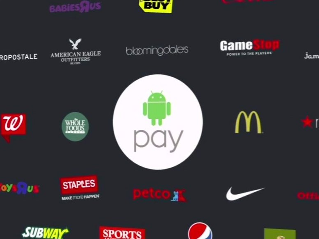 谷歌照抄苹果推出Android Pay