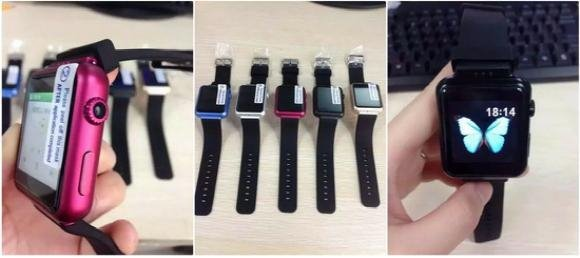 山寨Apple Watch以假乱真,苹果店员都认不出