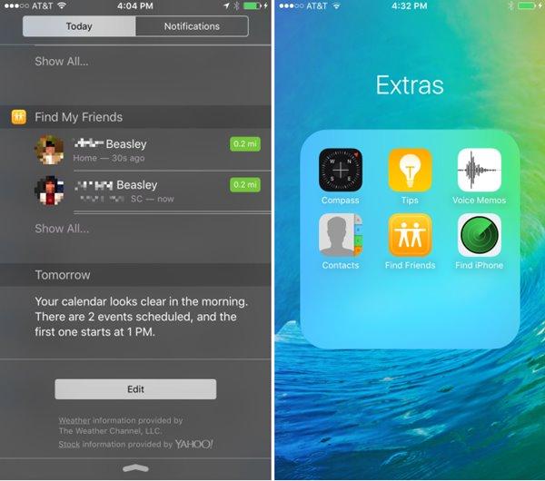 """抢""""鲜""""体验!苹果iOS9众多新功能上手预览"""