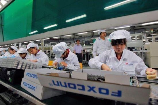 中国工资上涨:富士康或在印度生产iPhone