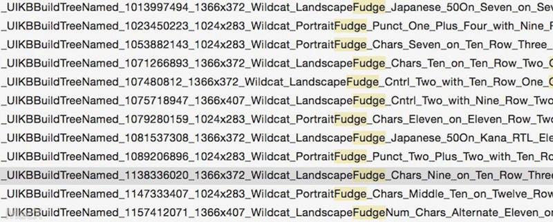 iOS 9代码显示12寸iPad Pro分辨率为2732 x 2048