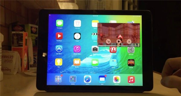 iOS9 iPad画中画功能遭破解 可支持所有内容