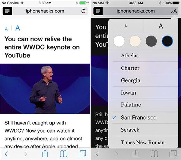 iOS9 VS iOS8详细用户界面对比