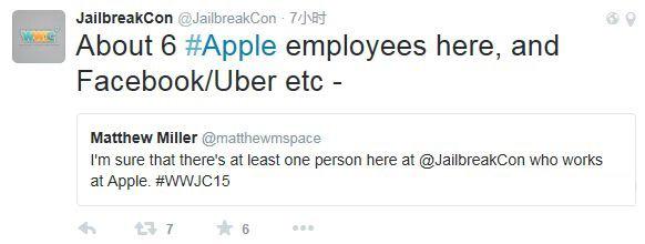 苹果员工竟然也参加iOS越狱大会