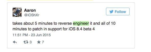 iOS 8.4可以越狱吗?根本不是事儿!