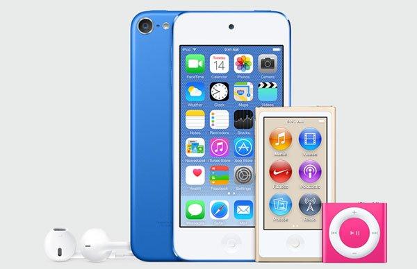 苹果新款iPod曝光:新配色亮相