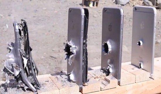 土豪真会玩!多少台iPhone能挡得住子弹