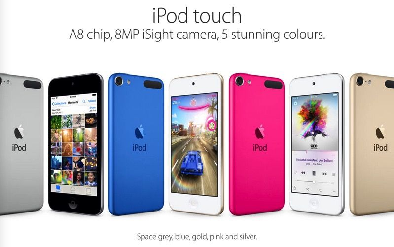 iPod touch 6 顺利击败iPod touch 5,就是这么简单