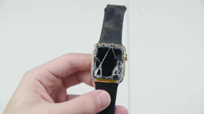 砸碎Apple Watch Edition去苹果零售店碰瓷会怎样?