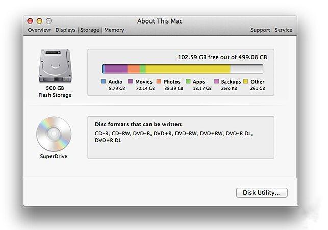"""如何找到并清理Mac电脑""""其他""""文件"""