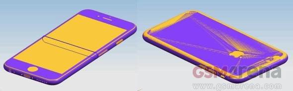 苹果iPhone 6s设计稿曝光:机身变厚