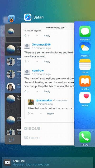 iOS9 beta4上手体验视频 不一样的体验