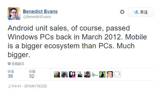 iOS设备销量爆涨  现已超越Windows PC