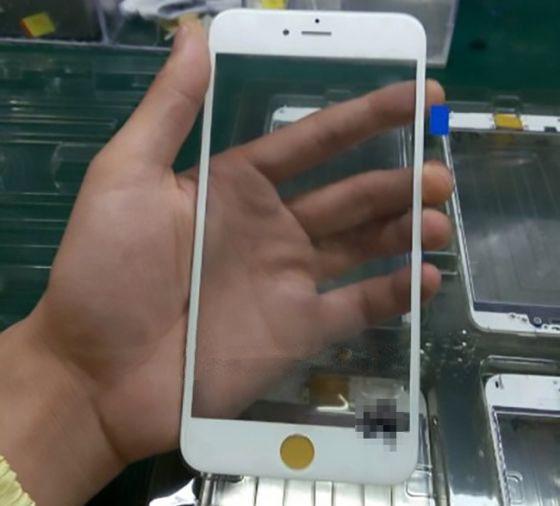 疑似iPhone 6s前面板曝光:外观基本不变