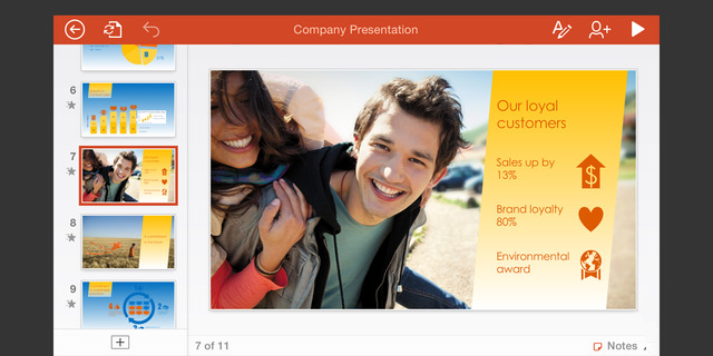 iOS 版 Office 更新集成 Outlook  可查看保护文件