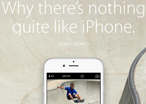 苹果官网新广告:手机还是iPhone最牛