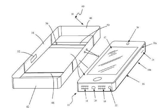 苹果新专利:复古风格新机或更像iPhone 4