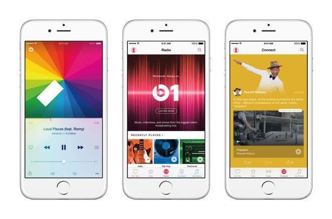 新时代来临?Apple Music 订阅量超1000万