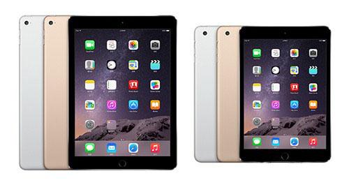 iPad mini4曝光 三大iPad新品齐上阵