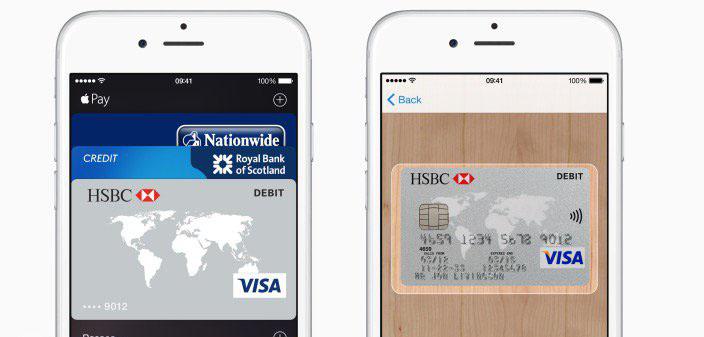 英国汇丰和 First Direct 银行开始支持 Apple Pay