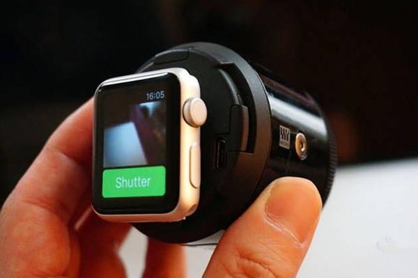 Apple Watch变身相机实时取景器,是不是很酷