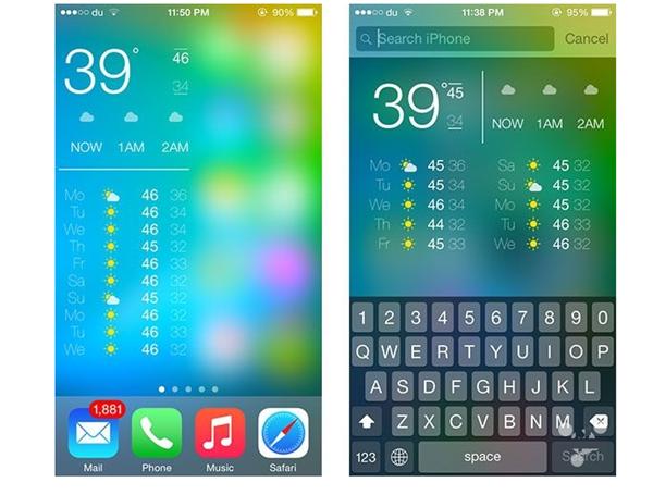 WeatherPeek,让你在 iOS 上到处都可看到天气信息