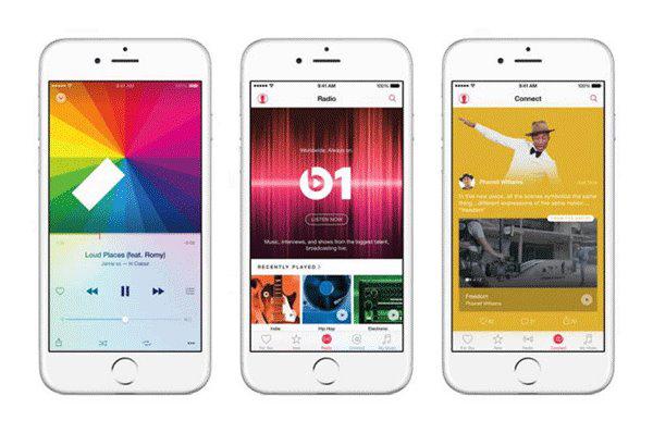 苹果Apple Music上线一个月订阅破千万