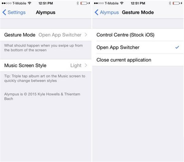 iOS8应用切换神器插件 Alympus更炫更叼更多功能