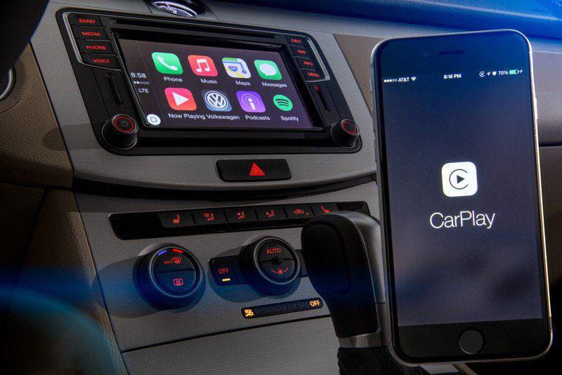 首批支持 CarPlay 的大众轿车在经销商到货