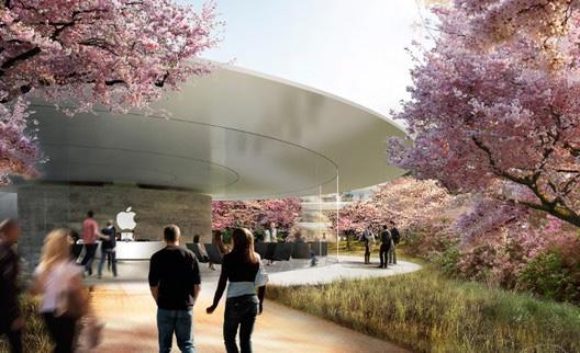 苹果新园区将建设游客中心 将包含咖啡馆、观景台和商场