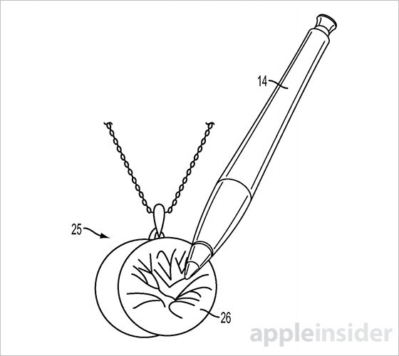 iPad Pro的前兆?苹果新专利触控笔