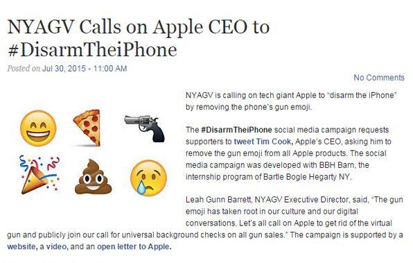 """反枪者要求""""解除 iPhone 武装""""  苹果会买账吗"""