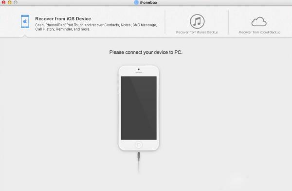 iPad/iPhone数据丢失怎么办 iFonebox帮你忙