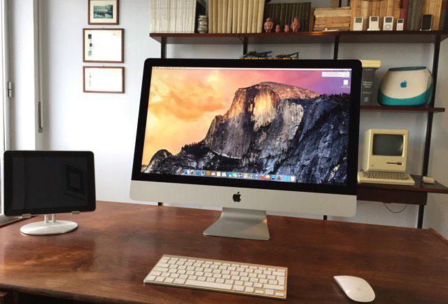 传苹果本季度发布新款 iMac,升级处理器和显示屏