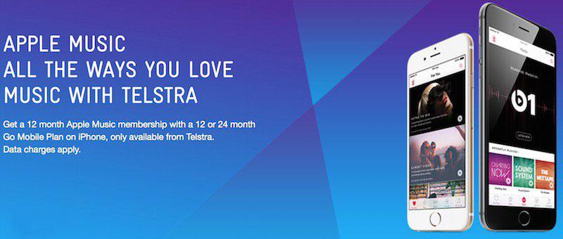 澳大利亚运营商 Telstra 免费赠送12个月 Apple Music