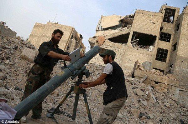战场上的iPad:成迫击炮瞄准器