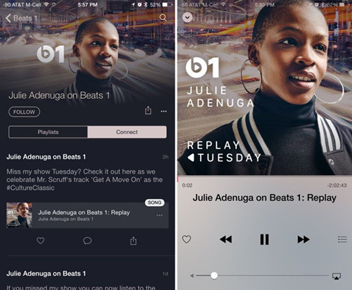 Beats 1加入重播功能:用户可以收听错过的节目