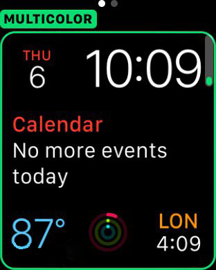 watchOS 2 Beta 5 新功能:巴黎表盘、屏幕70秒常亮