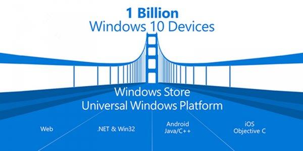 微软Win10直接运行iOS应用解读